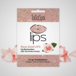Rose Gold Peel-Off Lip Masks