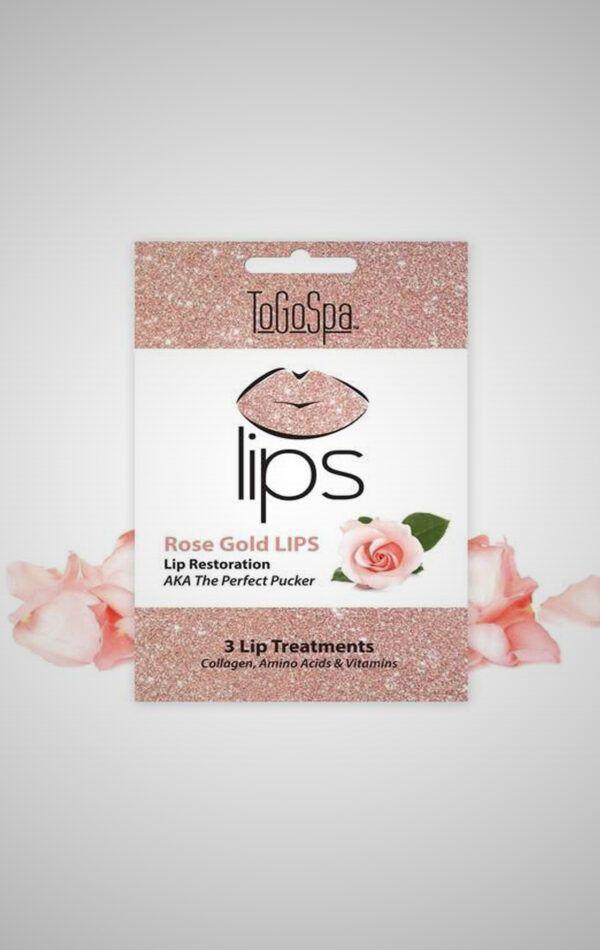 Rose Gold Peel-Off Lip Masks