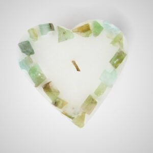 Small Heart Candle