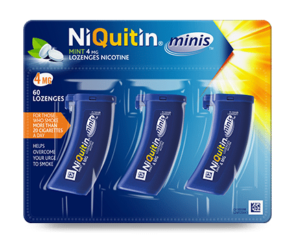 NiQuitin mini lozenges 4mg