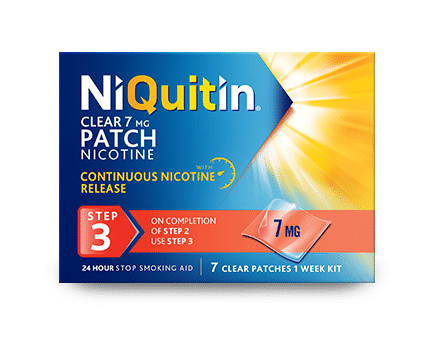 NiQuitin Patch Step 3 - Help you to quit smoking