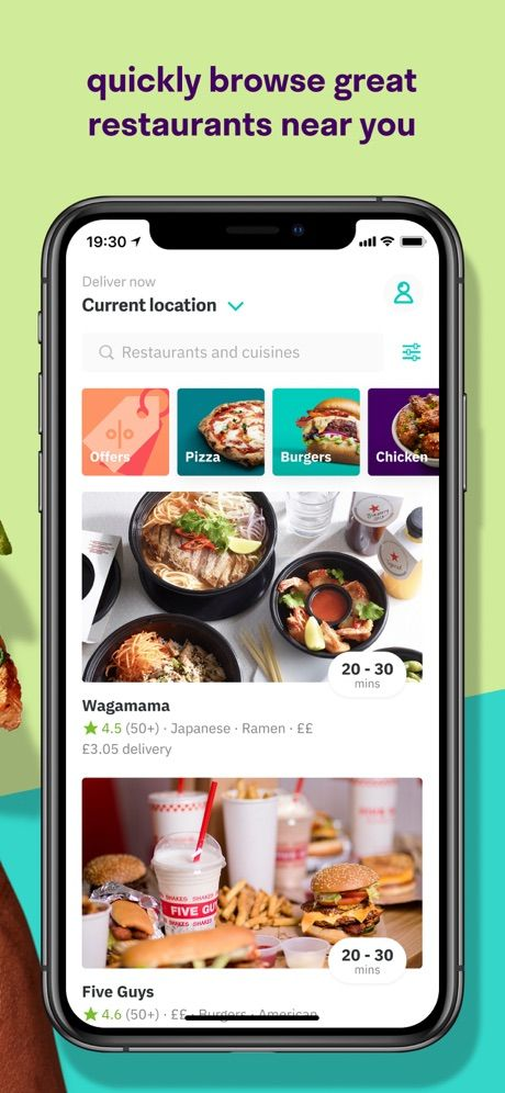 Deliveroo image from scrshots 2