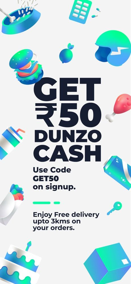 Dunzo - 24x7 delivery 65