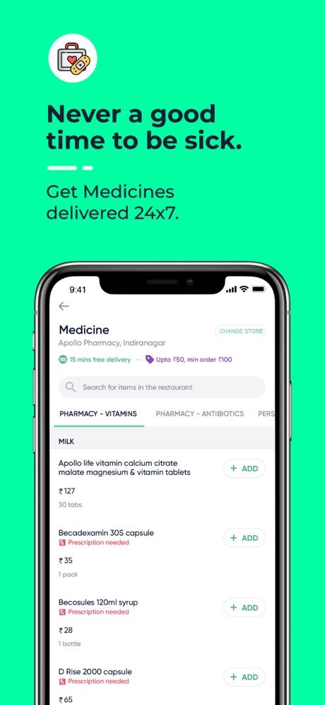 Dunzo - 24x7 delivery 64
