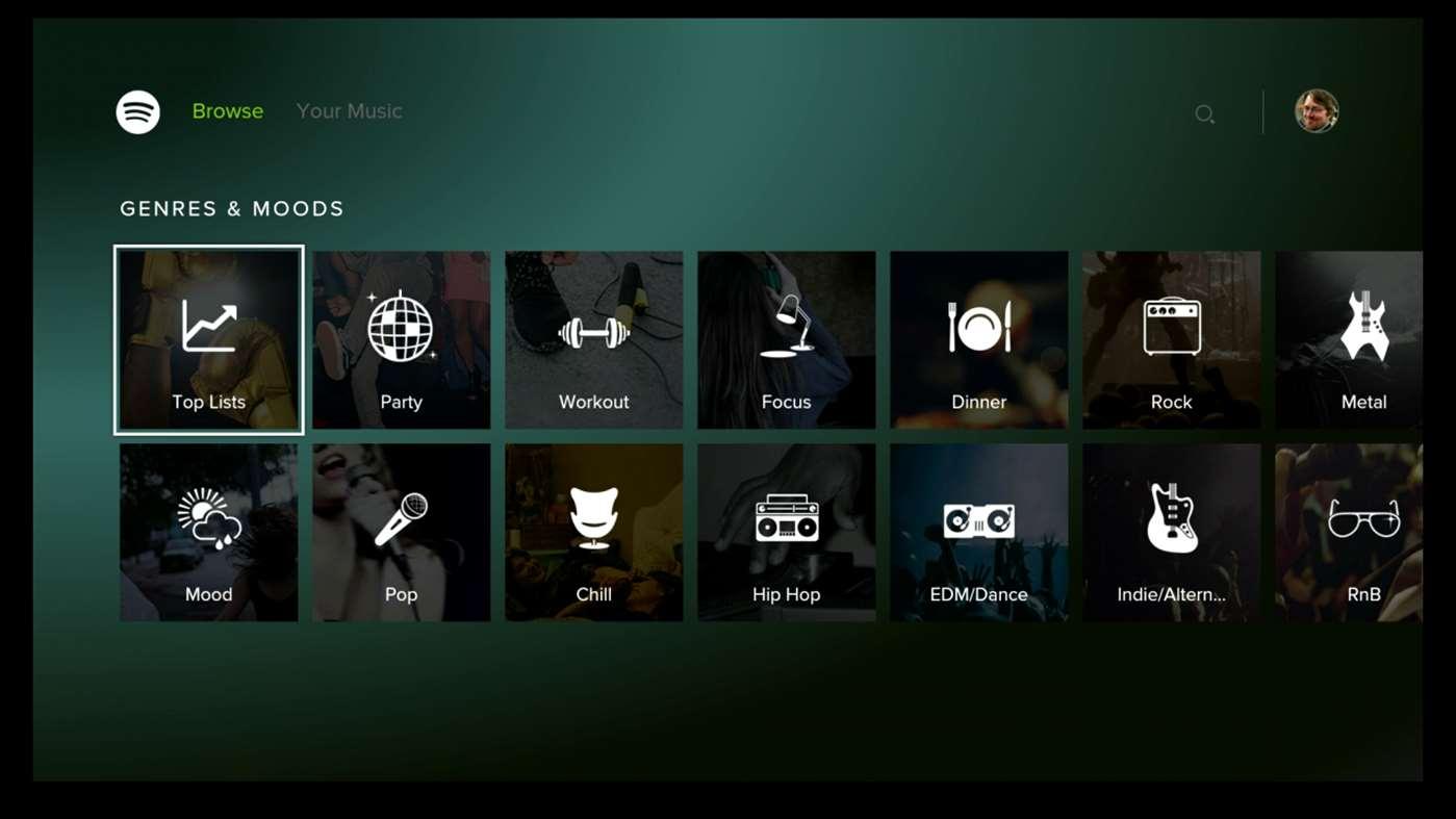 Spotify agora também está disponível para Xbox One 1