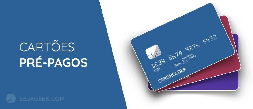 O que é cartão pré-pago?