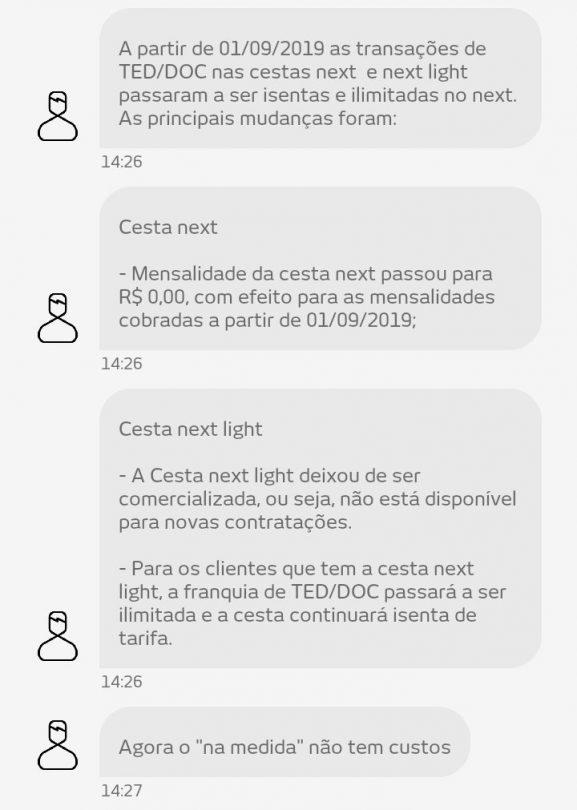 Banco Next Proposta Na Medida será Grátis