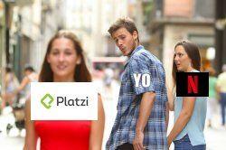Platzi-Netflix Meme