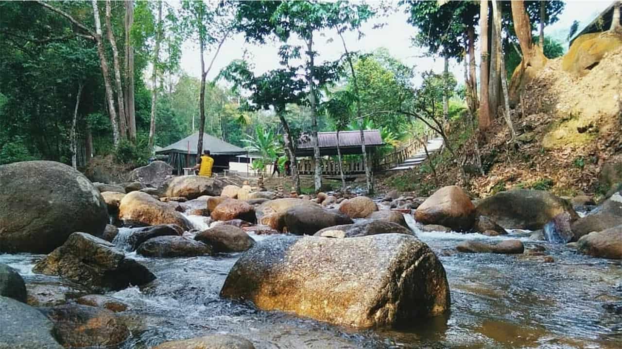 Sungai Inki, Kalumpang