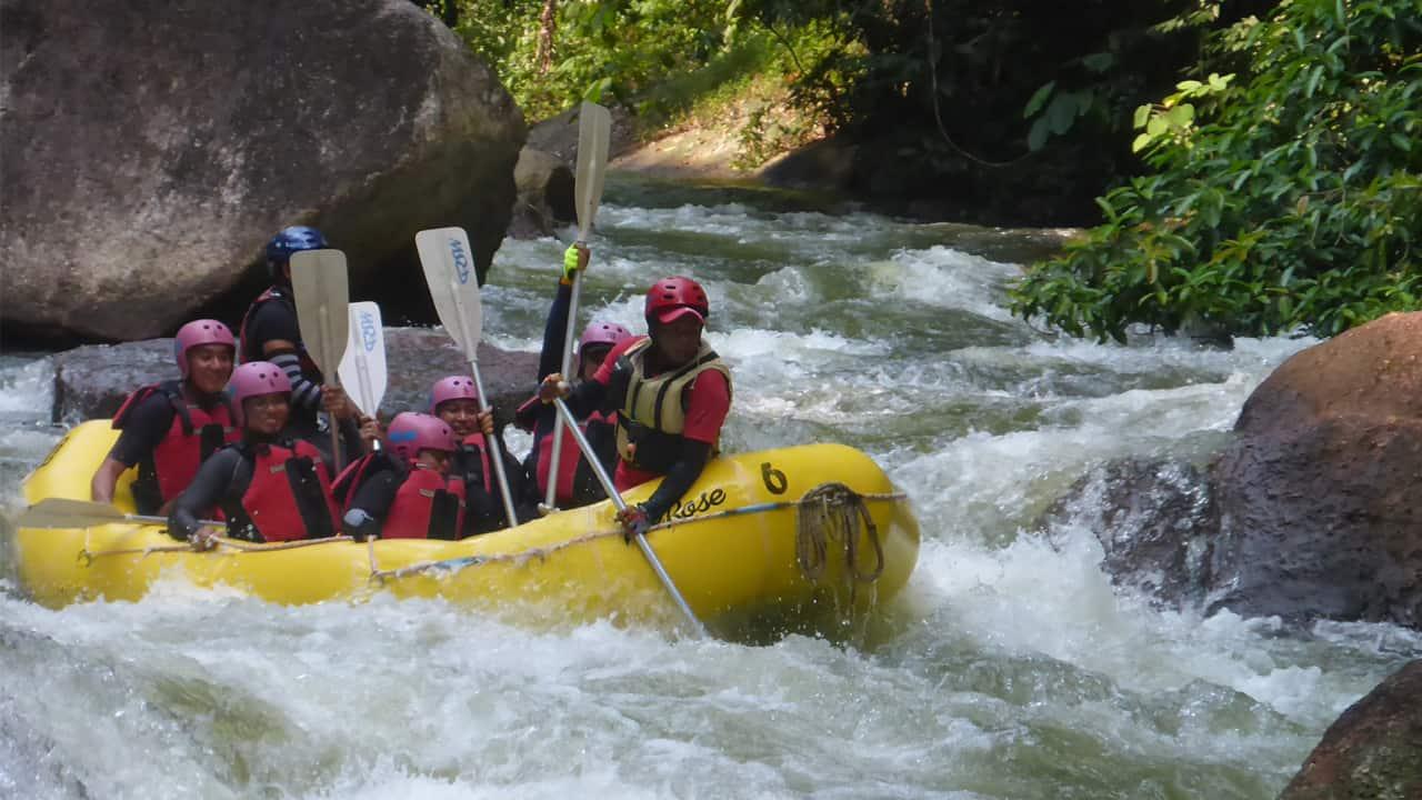 White Water Rafting, Sungai Selangor