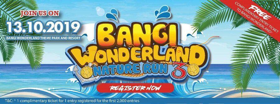 Bangi Wonderland Nature Run 3 2019