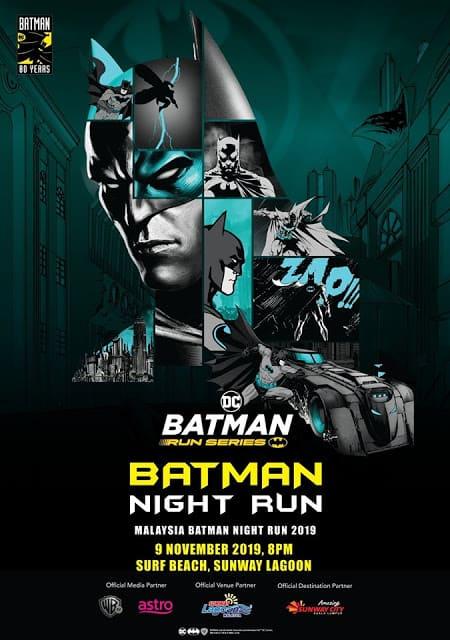 Batman 80th Anniversary Night Run