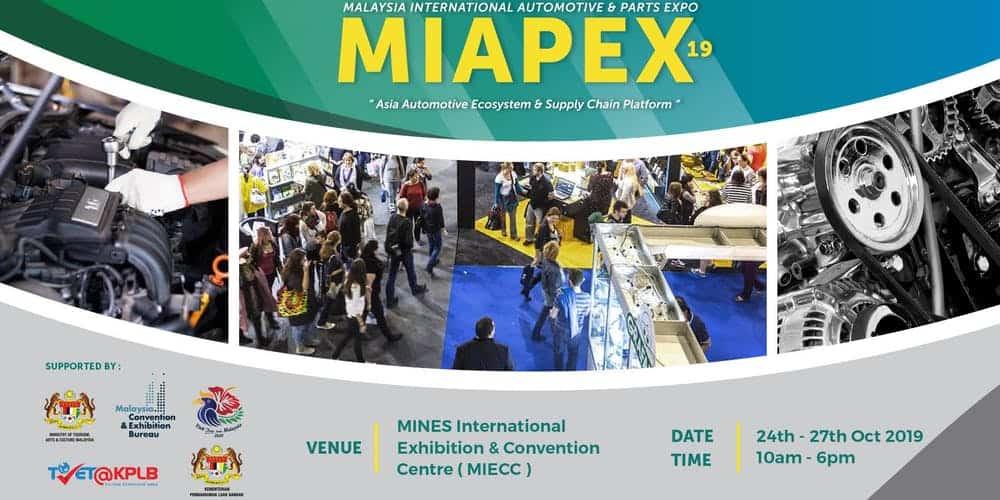 Malaysia International Automotive & Parts Expo 2019 (MIAPEX19)