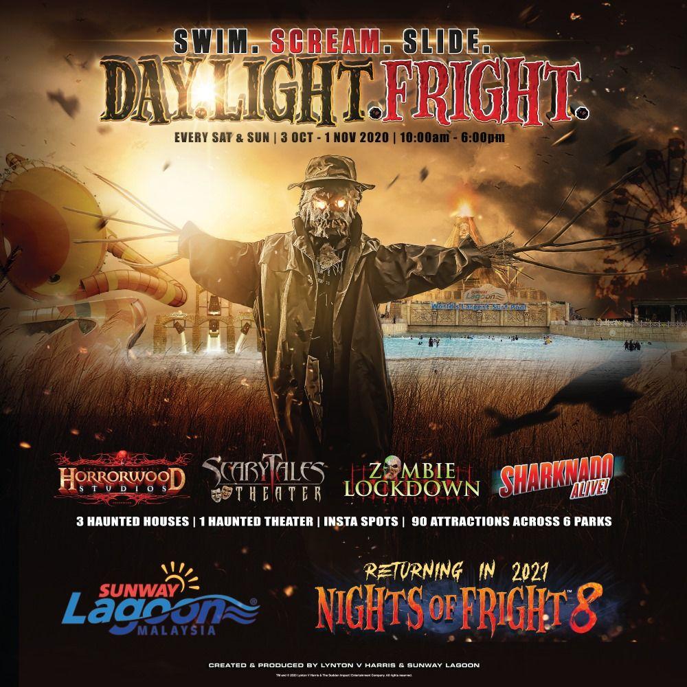 Day Light Fright at Sunway Lagoon