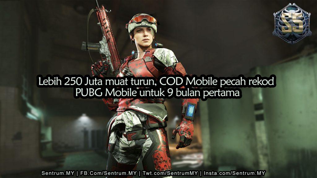 COD Mobile Activision 250 million