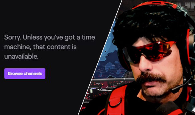 DR Disrespect Banned