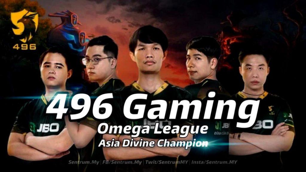 496 Gaming Omega League