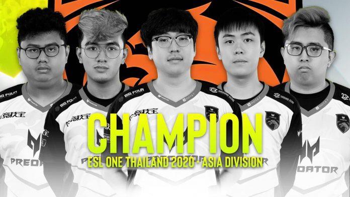 TNC Predator ESL One Thailand