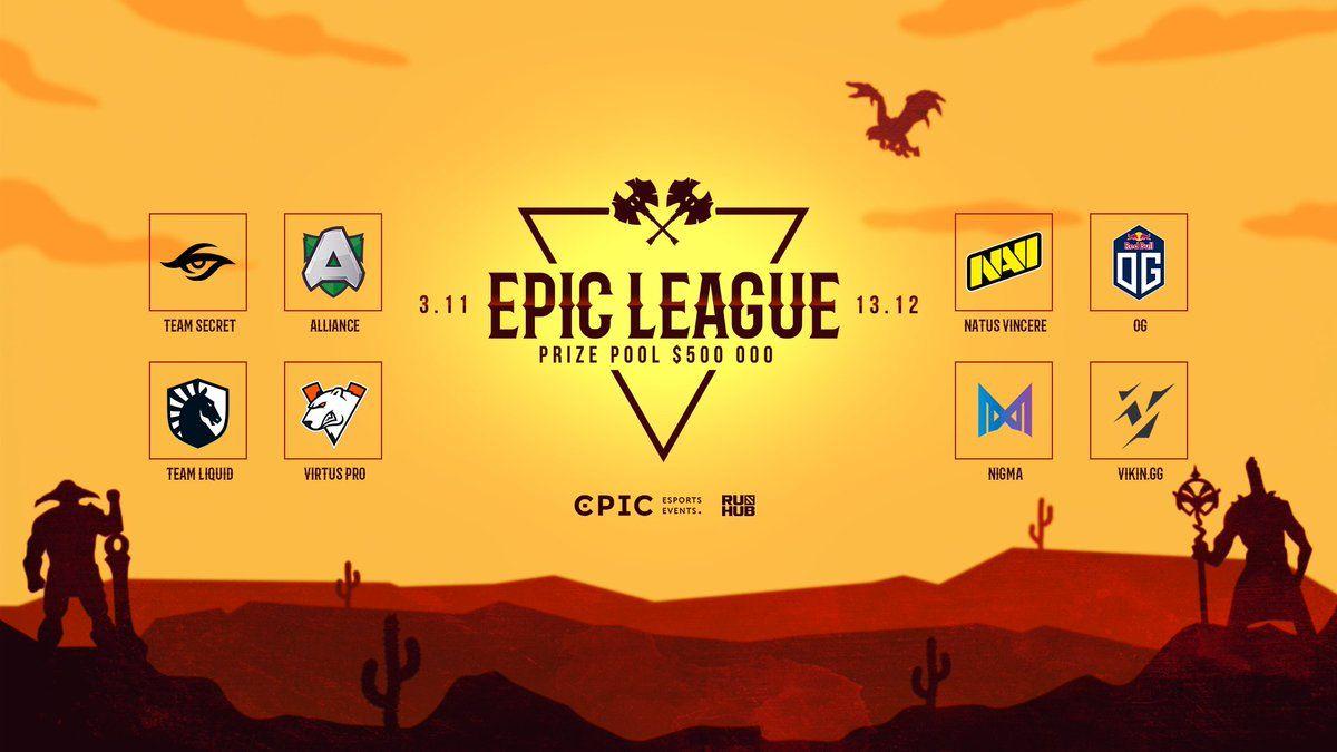 EPIC Esports Events bakal melangsungkan satu lagi pertandingan DOTA 2 bercorak liga iaitu EPIC League.