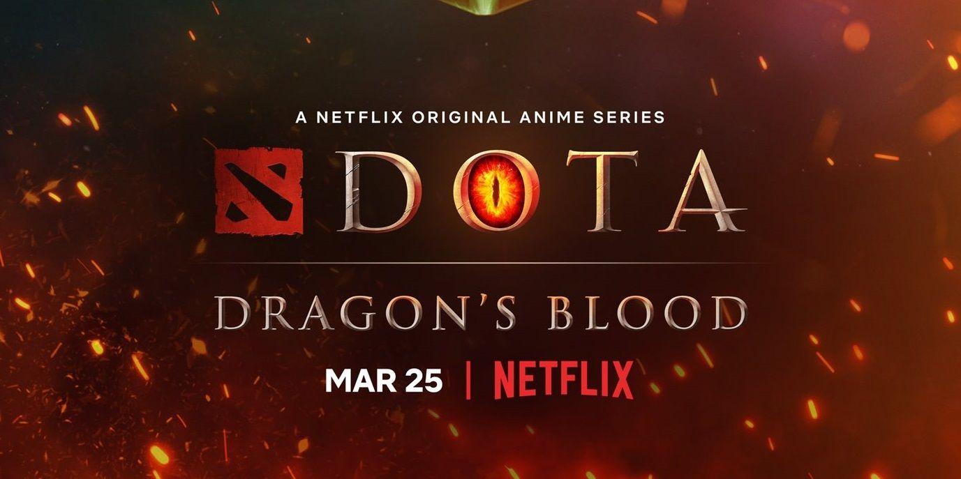 Netflix telah memuatnaik video acah rasmi siri animasi DOTA 2: Dragon's Blood awal pagi tadi di saluran Youtube