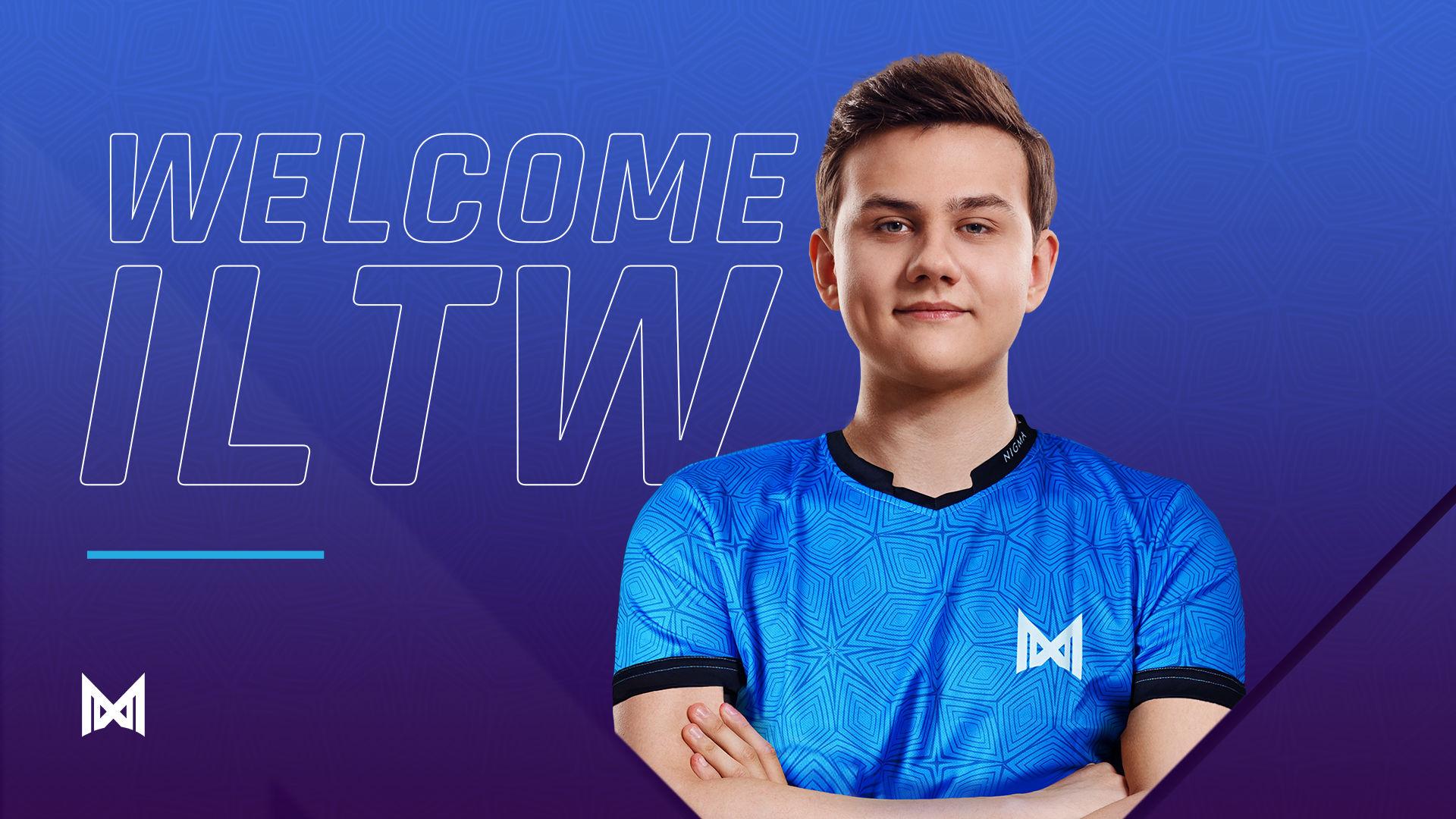 ILTW atau nama sebenarnya Igor Filatov sah sertai Team Nigma untuk menghadapi saingan Liga Div 1 DOTA 2 Pro Circuit Eropah yang akan bermula minggu hadapan.