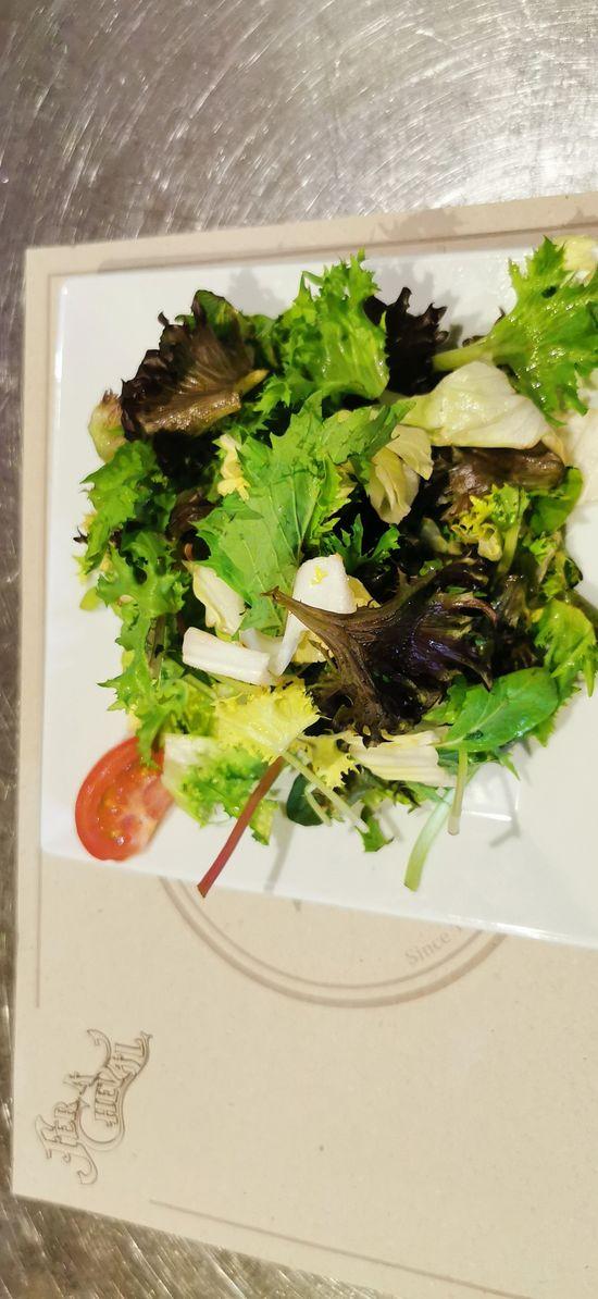 Fer à Cheval - Servido Menu (Takeaway, Delivery) - Small Green salad