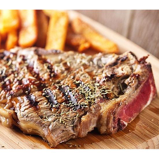 Borsalino - Servido Menu (Takeaway, Delivery) - Entrecôte de boeuf 250 g avec frites et légumes