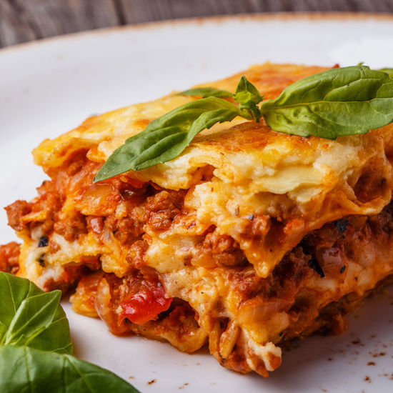 Borsalino - Servido Menu (Takeaway, Delivery) - Lasagna 'maison' - 1 portion