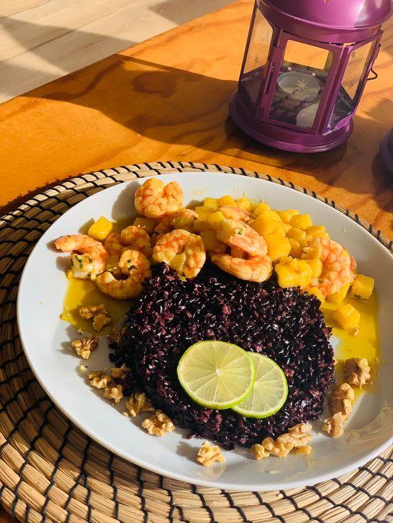 Merkado Restaurante - Na Lagoa de Óbidos - Servido Menu (Takeaway, Delivery) - Arroz Negro do Chef