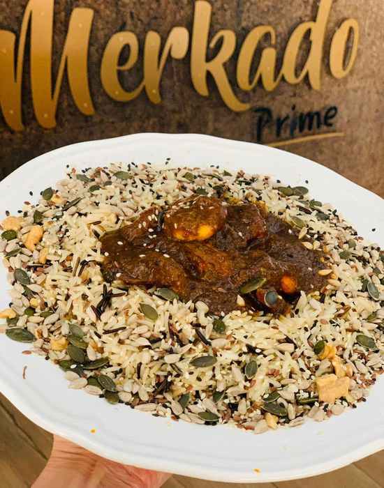 Merkado Restaurante - Na Lagoa de Óbidos - Servido Menu (Takeaway, Delivery) - Caril De Camarão