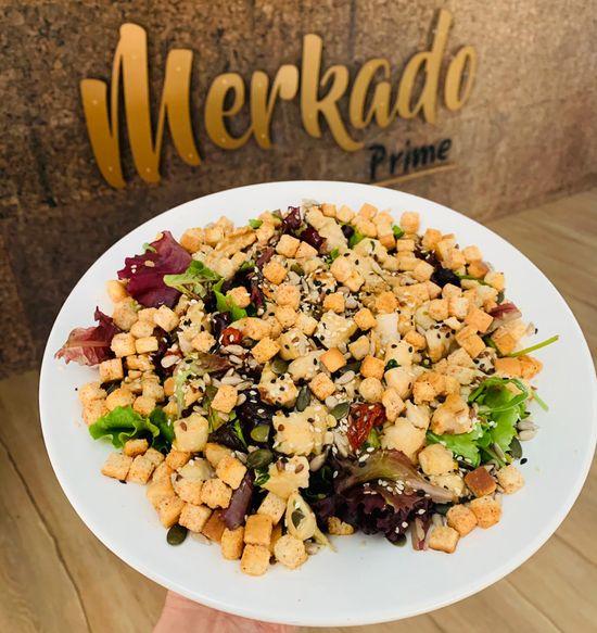Merkado Restaurante - Na Lagoa de Óbidos - Servido Menu (Takeaway, Delivery) - Salada de Frango