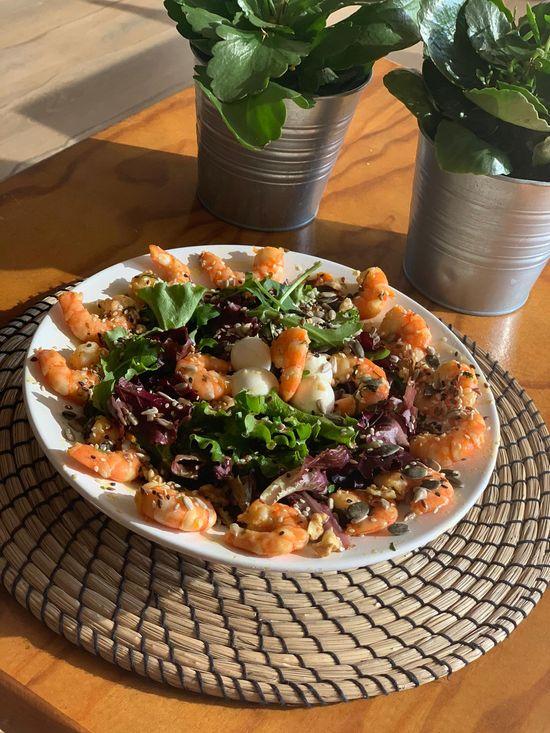 Merkado Restaurante - Na Lagoa de Óbidos - Servido Menu (Takeaway, Delivery) - Salada Do Chef