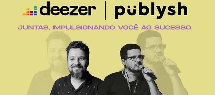 Deezer e Püblysh fazem evento inédito no Brasil