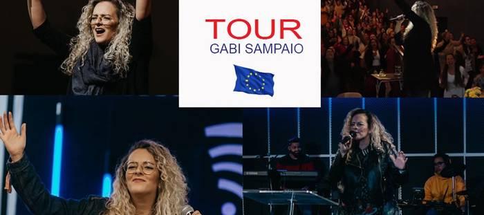 Europa Entretenimento inaugura turnê com a participação de Gabi Sampaio
