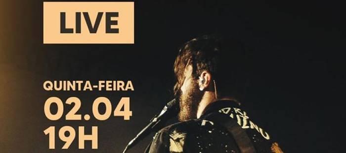André Aquino grava músicas inéditas em Live Especial