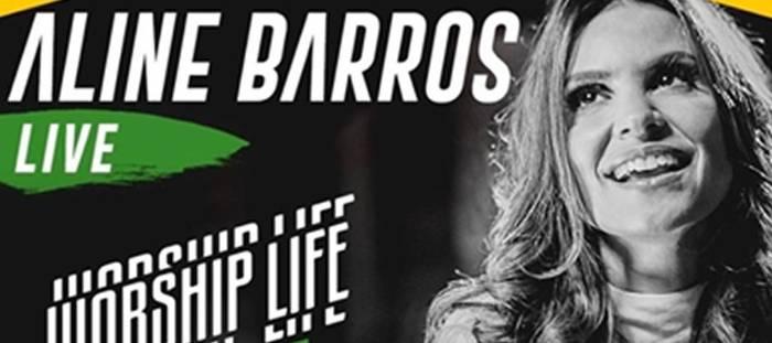 """Cantora Aline Barros divulga live: """"Pra gente cantar, ajudar e abençoar as pessoas"""""""