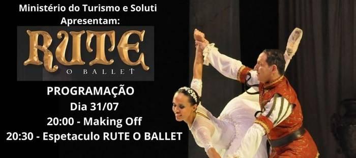 """Cia Rhema de Teatro e Dança fará transmissão do aclamado espetáculo """"Rute o Ballet"""""""