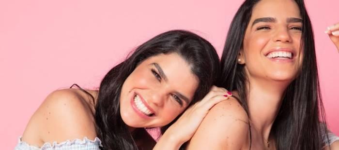 As gêmeas angrenses Clarisse e Larissa estão de volta ao YouTube