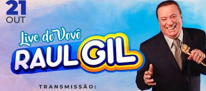 "Live ""Gospel"" do Vovô Raul Gil promete estremecer a internet"