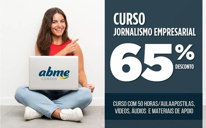 ABME lança Curso de Jornalismo Empresarial ABME em plataforma EAD