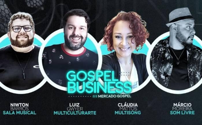 """Live """"Gospel Business"""" reunirá profissionais do mercado cristão"""