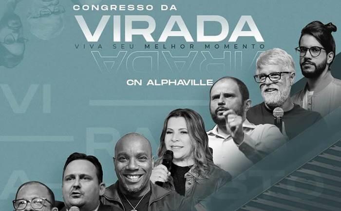 Congresso da Virada, chegou um novo tempo, com participação de Claudio Duarte e Gabriel Guedes, entre outros