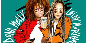 """Leidy Murilho une seu estilo black music com o rap de Dona Kelly em """"Além da Gravidade"""""""