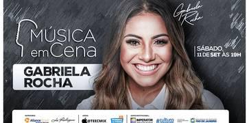 Música em Cena recebe Gabriela Rocha no palco do Imperator