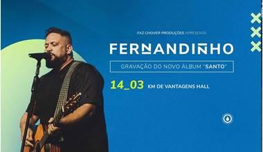 Fernandinho grava projeto só de inéditas no Rio de Janeiro
