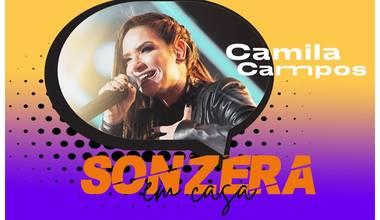 """Camila Campos abre a segunda temporada do """"Sonzera em Casa"""""""