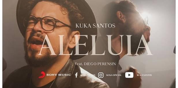 """Kuka Santos lança """"Aleluia"""" e incentiva cristãos a adorar mesmo em meio ao sofrimento"""