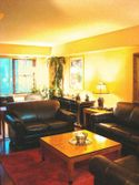 3 Bedroom, 2 Bath on East 57th Street Apartment 4 - Living room in 14A, with a queen sofabed