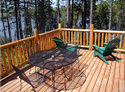 Loon Lodge on Loon Lake - View from Deck