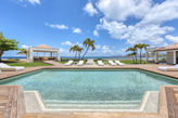 CASA CERVO...Baie Rouge beach is just outside the door of this fabulous 4 BR villa...